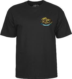 Powell-Peralta Oval Dragon Black Large T-Shirt