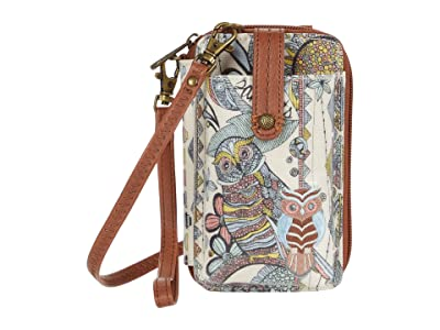 Sakroots Artist Circle Smartphone Wristlet (Sunshine Spirit Desert) Wristlet Handbags