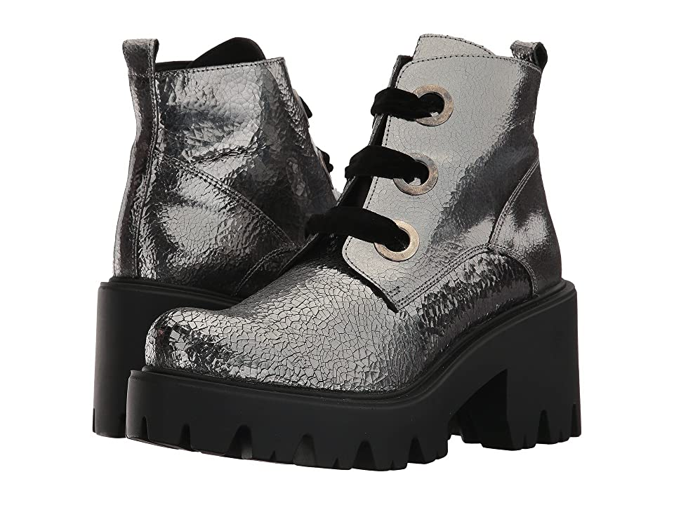 Shellys London Komo bootie (Pewter Crackle) Women