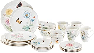 Lenox 28 Piece Butterfly Meadow Classic Dinnerware Set - 865075