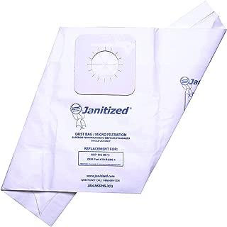 Janitized JAN-NSSPIG-2(3) Premium Replacement Commercial Vacuum Paper Bag for NSS M-1