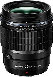 Olympus M.Zuiko Digital ED 25mm f1.2 PRO Lens, Black