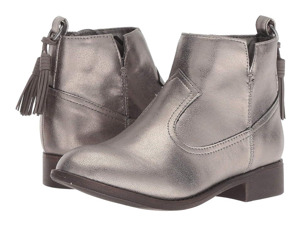 Nina Kids Emerie (Toddler/Little Kid/Big Kid) (Silver) Girls Shoes