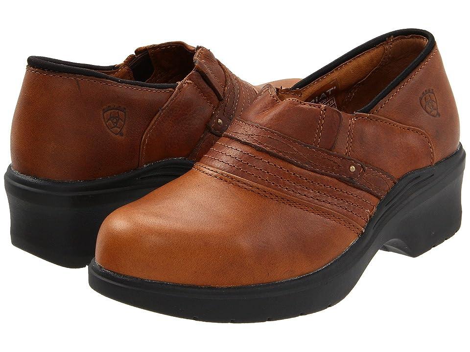 Ariat Safety Toe Clog (Brown) Women