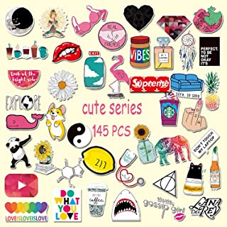 M.Owstoni Stickers For Water BottlesBig 46-PackCute,Laptop,Aesthetic,Water Sporting Goods Sticker Lots