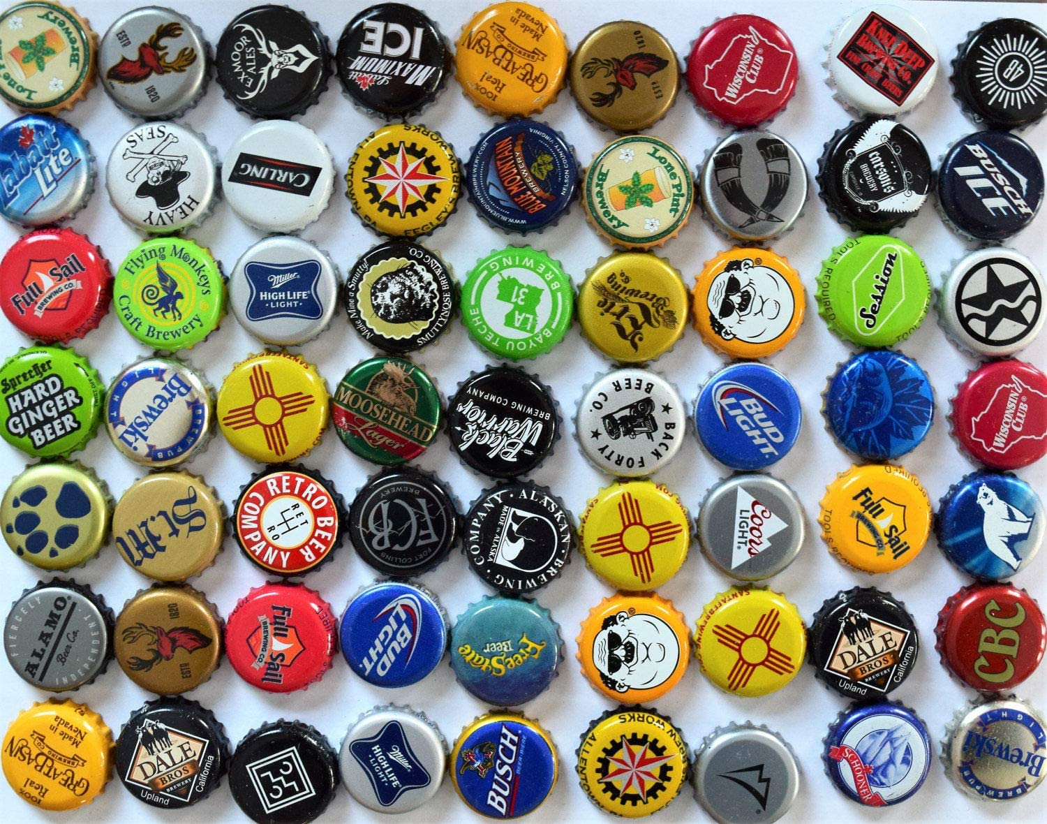 100 Assorted New item Beer Bottle Caps Craft Supplies for Challenge the lowest price Lot Cap