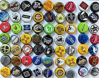 100 Assorted Beer Bottle Caps, Bottle Cap Lot for Craft Supplies, Beer Bottle Cap Assortment, Beer Map Caps, Craft Bottle Caps