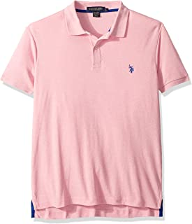 U.S. Polo Assn. Men's Slim Fit Solid Short Sleeve...