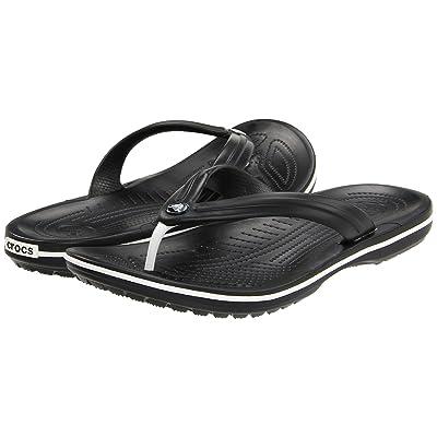 Crocs Crocband Flip (Black) Shoes