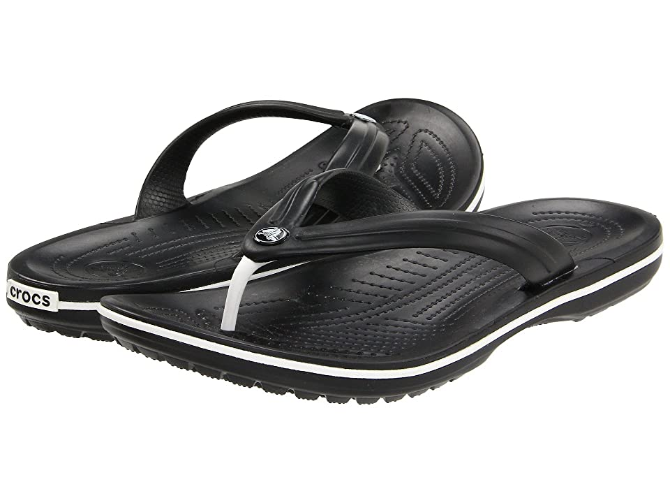 Crocs Crocband Flip (Black) Shoes