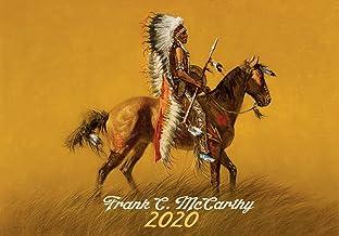 Frank McCarthy Pioneers Western - Calendario de pared (2020, 12 páginas, 20,3 x 27,9 cm)