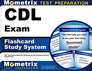 CDL Exam Flashcard Study System: CDL Test Practice Questions & Review for the Commercial Driver's License Exam (Cards)