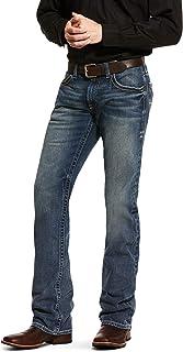 ARIAT Men's M5 Slim Stretch Adkins Stackable Straight Leg Jean