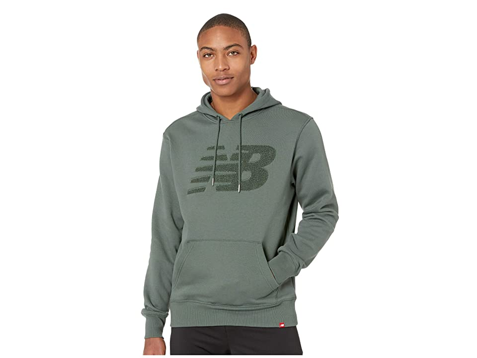 New Balance Varsity Chenille Hoodie (Faded Rosin) Men