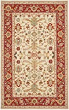 Amazon Com Red Wool Hooked Area Rugs