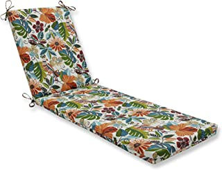 Pillow Perfect Outdoor/Indoor Lensing Jungle Chaise Lounge Cushion 80x23x3