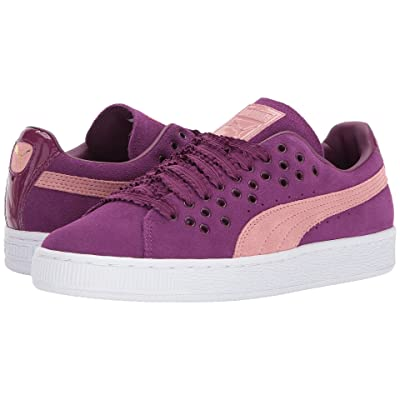 PUMA Suede XL Lace (Dark Purple/Cameo Brown) Women