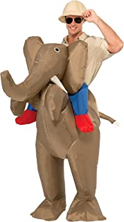 Men's Ride An Elephant Inflatable Costume