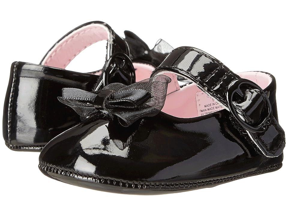 Vintage Style Children's Clothing: Girls, Boys, Baby, Toddler Baby Deer - Skimmer Mary Jane Infant Black Patent Girls Shoes $23.00 AT vintagedancer.com