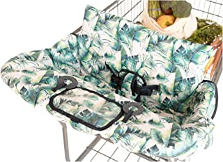 BINXY BABY 2-in-1 Cushy Cart Cover and High Chair Cover | Universal Fit | Includes Storage Pouch (Tropical Days)