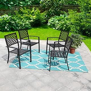 Best garden chairs stackable Reviews