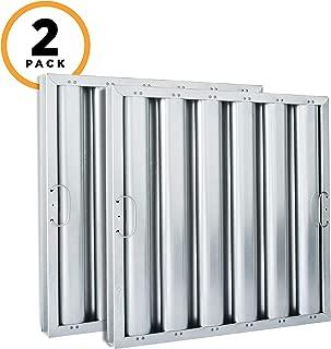 Kleen-Gard Aluminum Commercial Kitchen Range Hood Filter, 20x16x2, (Pack of 2) (Renewed)