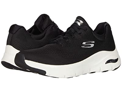 SKECHERS Arch Fit Big Appeal (Black/White) Women