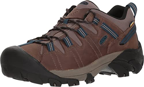 KEEN Men's Targhee II WP-M Hiking chaussures, Bungee Cord Legion bleu, 9.5 M US