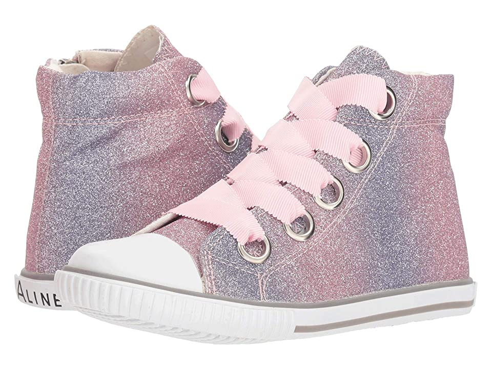 Amiana 6-A0920 (Toddler/Little Kid/Big Kid/Adult) (Pink Ombre Glitter) Girl