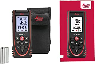 Leica Geosystems, US Tools, LEIAD 850834 Leica Disto x3 Laser Distance Meter