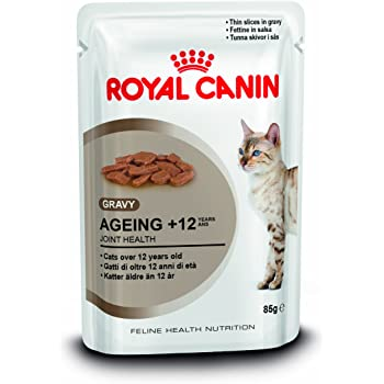 Royal Canin Aging 12 Cat Wet Food 12x85g Amazon Co Uk Pet Supplies