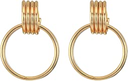 Lila Hoop Earrings