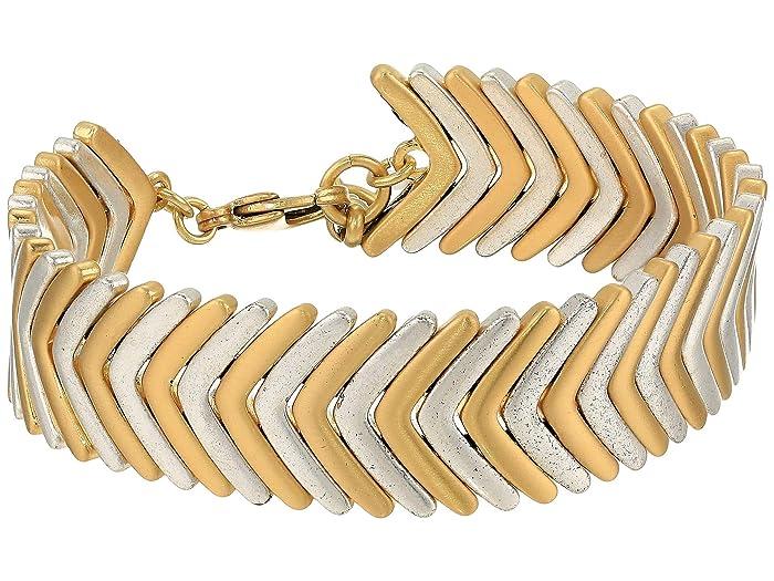 Lucky Brand  Arrow Bracelet (Two-Tone) Bracelet