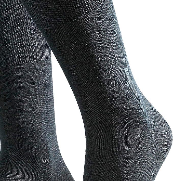 FALKE Socken Family Baumwolle Gr/ö/ße 19-42 Kinder schwarz grau viele weitere Farben verst/ärkte Kindersocken ohne Muster atmungsaktiv d/ünn und einfarbig 1 Paar
