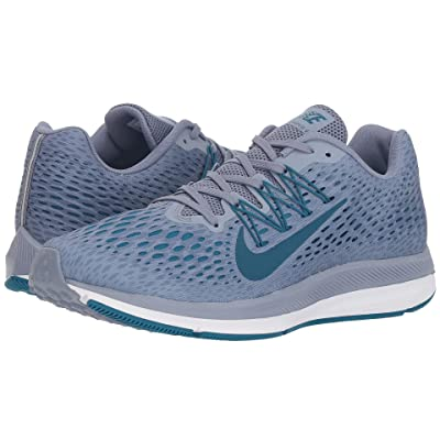 Nike Air Zoom Winflo 5 (Ashen Slate/Blue Force/Green Abyss/White) Men