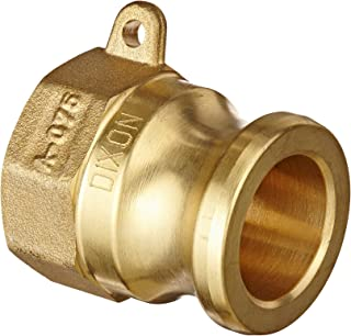 6 Brass 6 6 ID 6 ID Campbell Fittings C-BR-600 Cam and Groove
