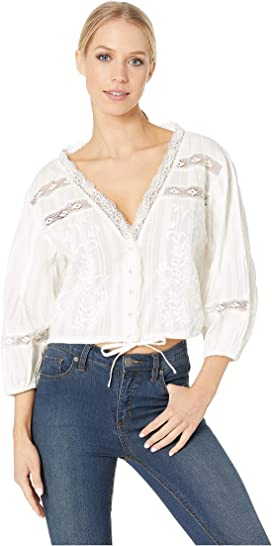 12eaedad00c Free People All Dolled Up Top at Zappos.com