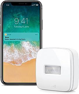 Eve Motion - Draadloze bewegingssensor met Apple HomeKit-technologie, IPX 3-waterbestendigheid, Bluetooth Low Energy