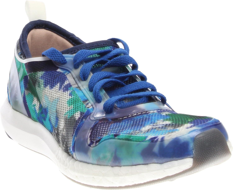 Adidas by Stella McCartney Women's CC Sonic Sneakers, Dark bluee White Granite, 5.5 B(M) US