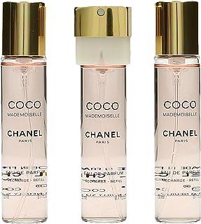 Chanel Coco Mademoiselle Ric. van Chanel - navulling Eau De Parfum ric.ca - Spray 3x20 ml.