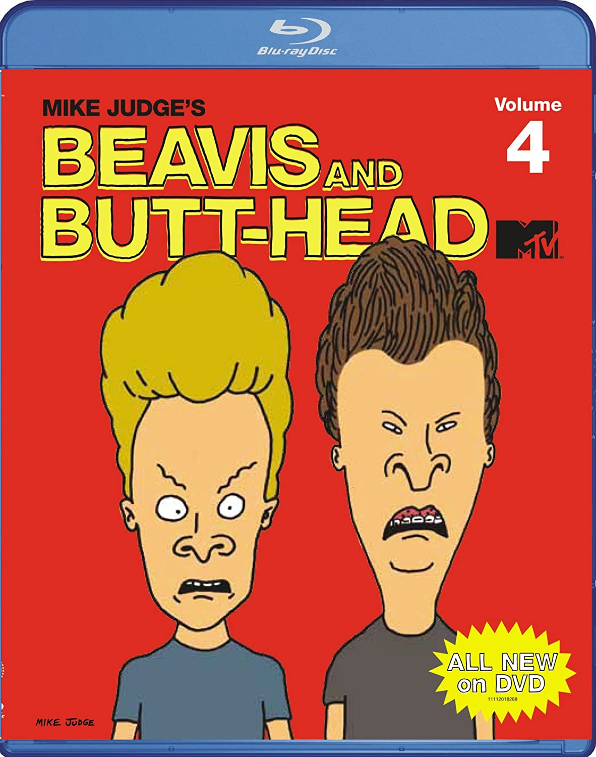 Beavis Credence and Butt-Head: Volume Chicago Mall Blu-ray 4