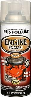 Rust-Oleum 248944 Automotive Rust Preventive Engine Enamel Spray Paint, 12 Oz Aerosol Can, 11 oz, Clear