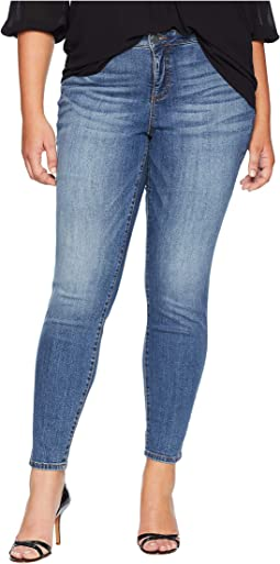 Plus Size Diana Kurvy Skinny Jeans in Perfection