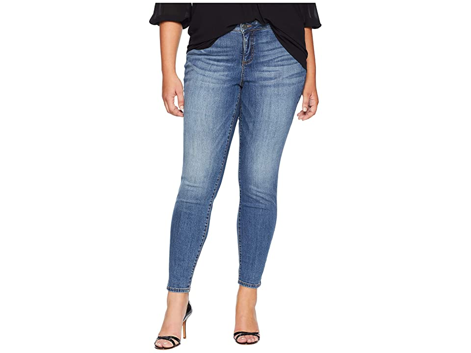 KUT from the Kloth Plus Size Diana Kurvy Skinny Jeans in Perfection (Perfection/Medium Base Wash) Women