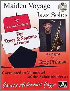 Vol. 54 Maiden Voyage Tenor Sax Solos