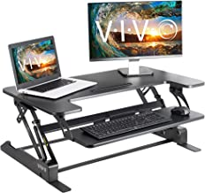 """VIVO Height Adjustable Standing Desk Sit to Stand Gas Spring Riser Converter 