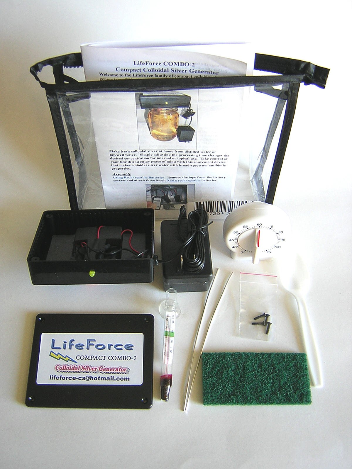 Compact Colloidal Generator LifeForce Devices