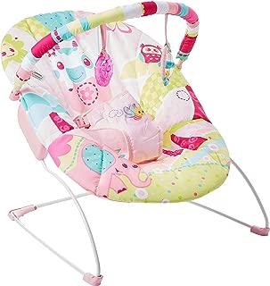 Cadeira De Descanso Musical Elefante, Mastela, Rosa, Médio