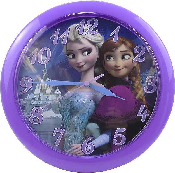 迪士尼冰雪奇缘安娜和艾尔莎 10 圆挂钟