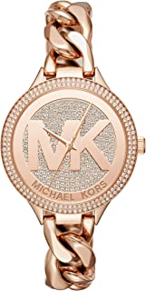 Women'sRose Gold-Tone Watch MK3475